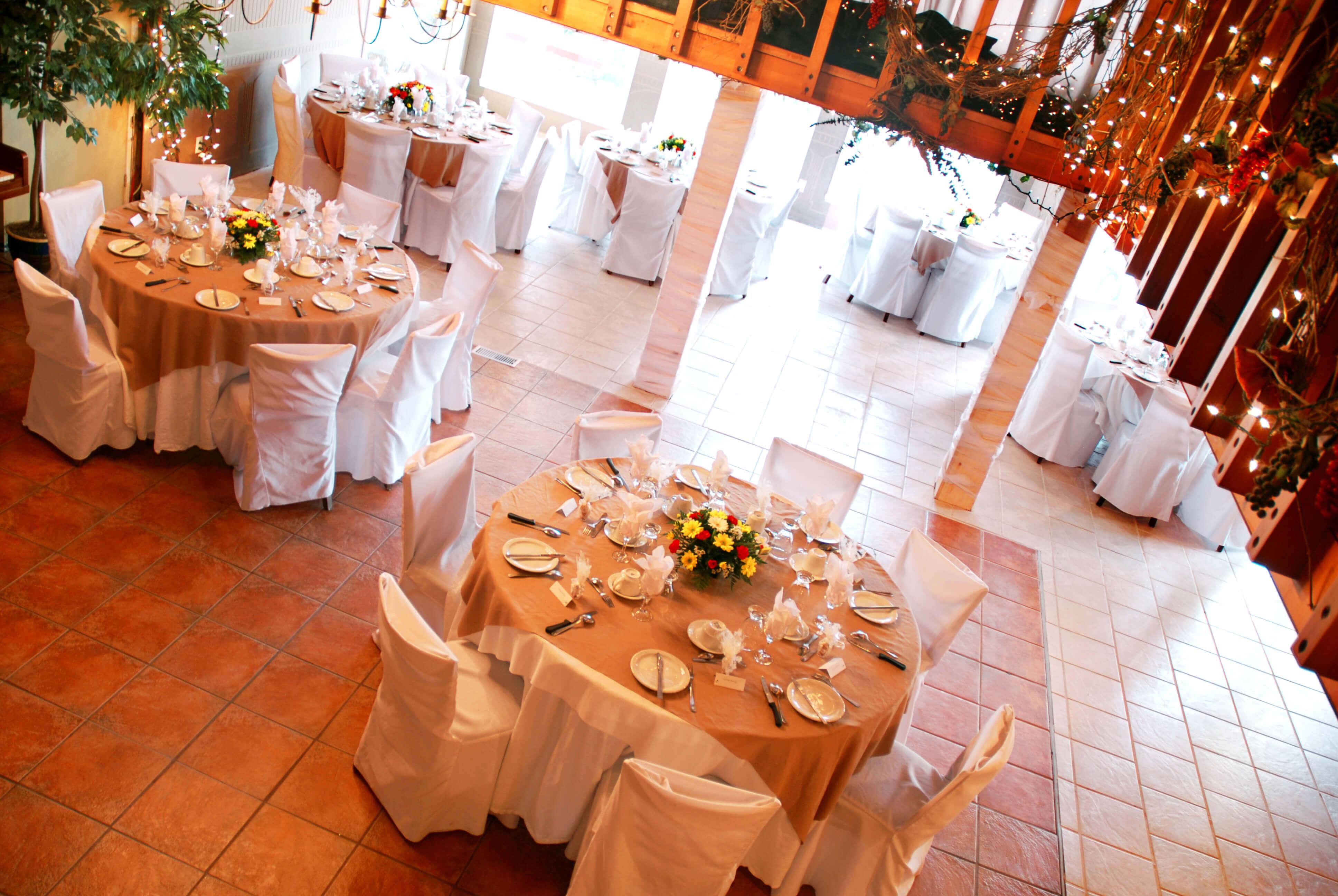 Salle réception restaurant