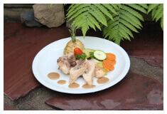 Assiette viande et légumes