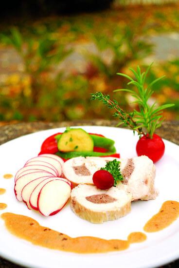 Assiettes viande et légumes