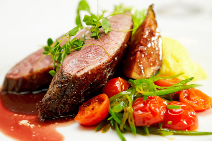 Assiette de viande