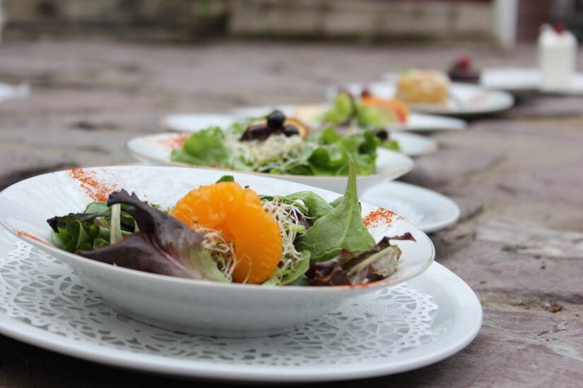 Salades et desserts