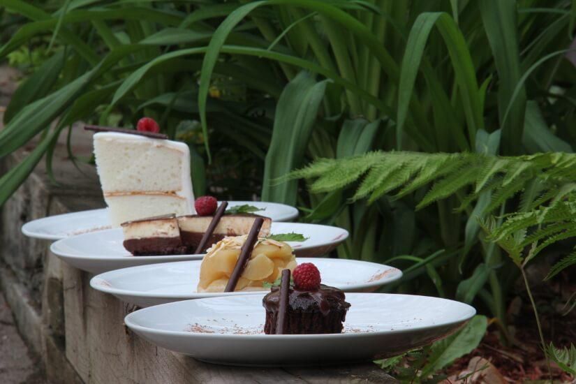 Variétés de desserts